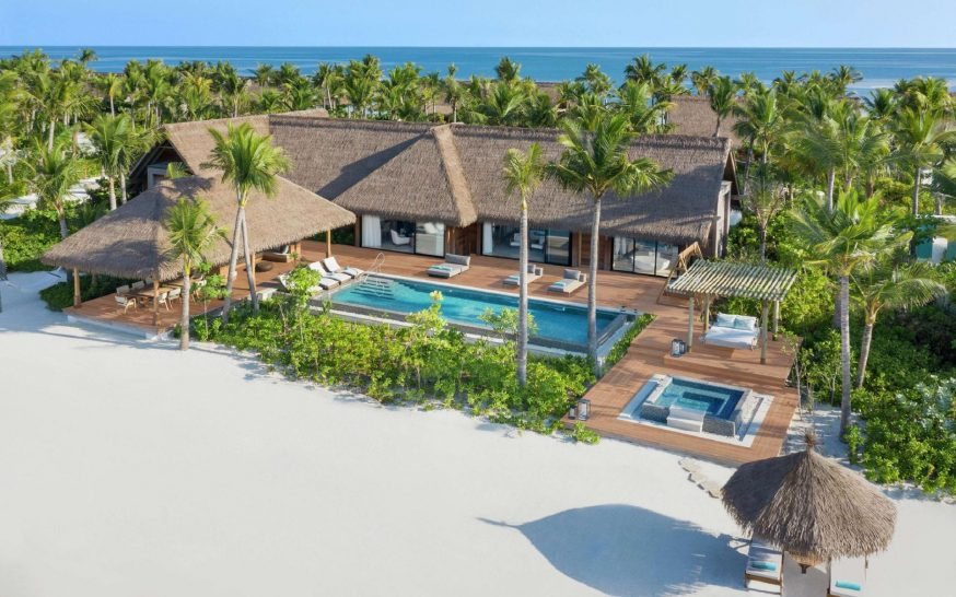 Waldorf Astoria Maldives Ithaafushi Two Bedroom Grand Beach Villa with Pool