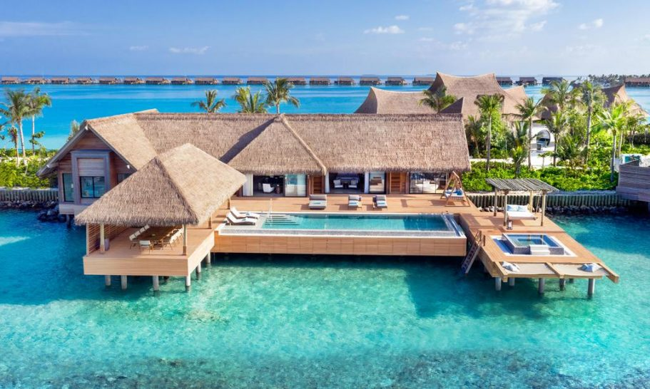 Waldorf Astoria Maldives Ithaafushi Two Bedroom Reef Villa with Pool