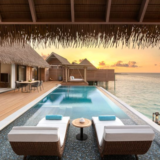 Waldorf Astoria Maldives Ithaafushi Two Queen Bedded Reef Villa With Pool