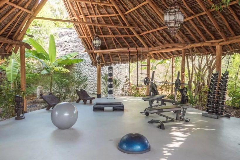 Zanzibar White Sand Luxury Villas and Spa Gym