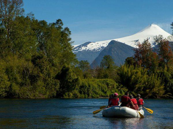 andBeyond Vira Vira Floating raft on the Liucura River