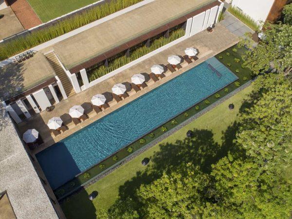 Anantara Chiang Mai Resort and Spa Aerial View