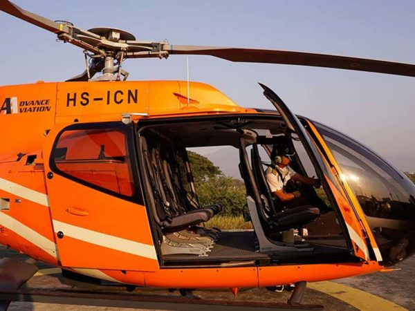 Anantara Chiang Mai Resort and Spa Helicopter Charters