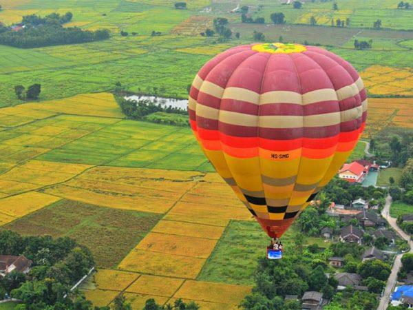 Anantara Chiang Mai Resort and Spa MChiang Mai from Above