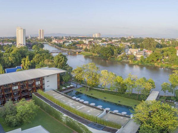 Anantara Chiang Mai Resort and Spa Side View