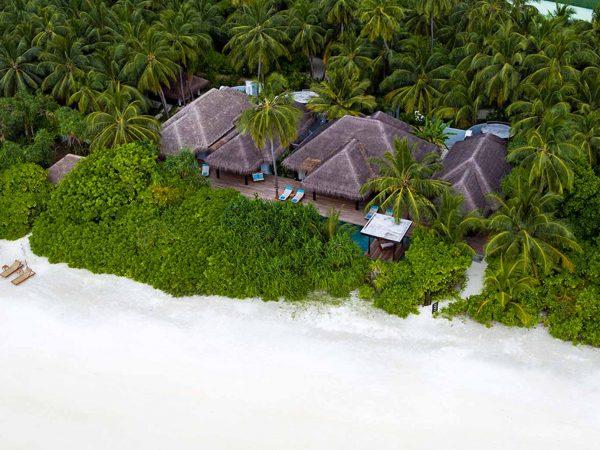 Anantara Kihavah Maldives Villas Aerial View