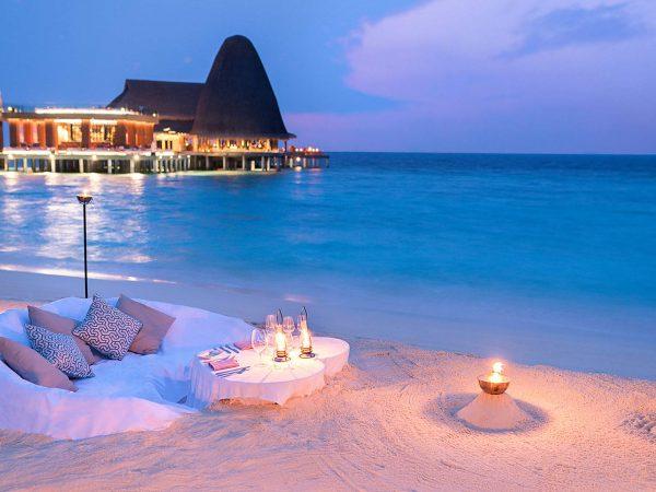 Anantara Kihavah Maldives Villas Dining by Design
