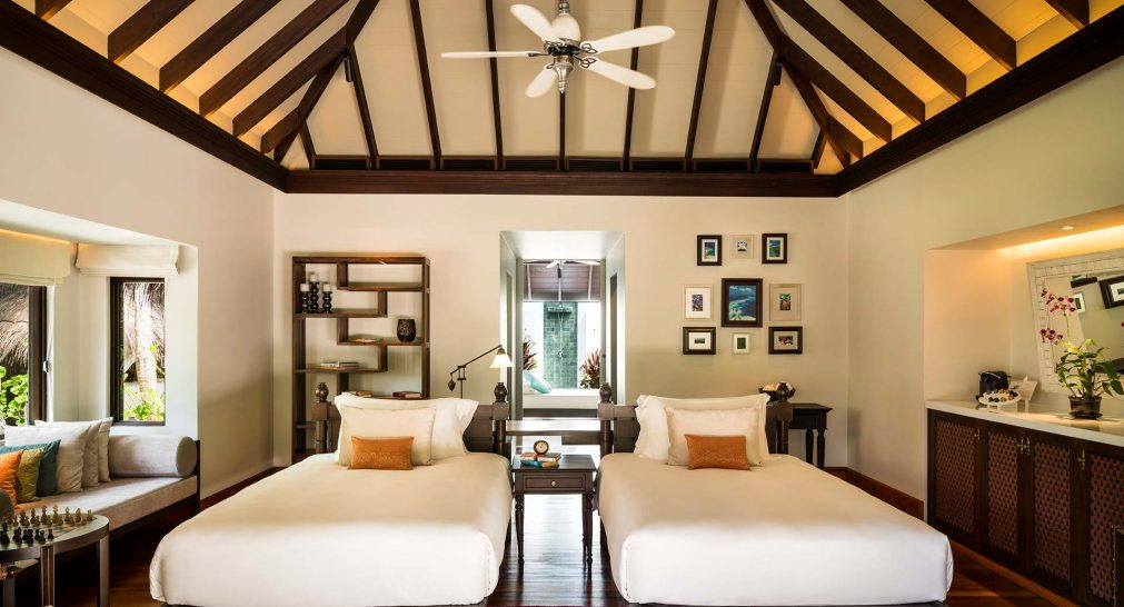 Anantara Kihavah Maldives Villas Four Bedroom Beach Pool Residence
