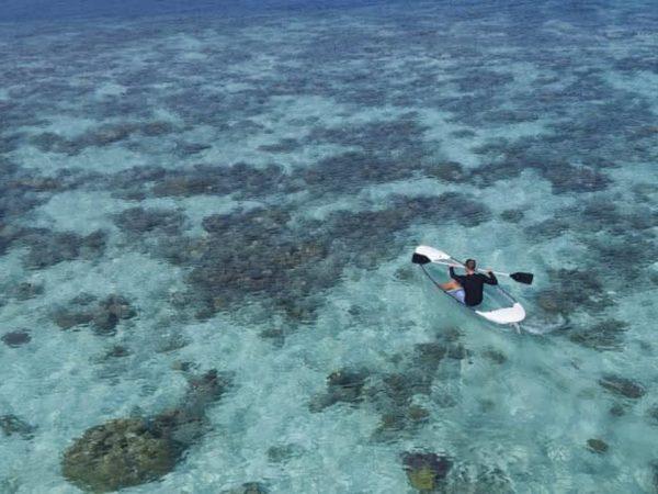 Anantara Kihavah Maldives Villas Kayaking