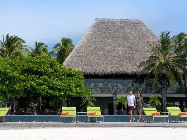 Anantara Kihavah Maldives Villas Lobby View