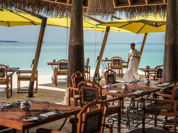 Anantara Kihavah Maldives Villas Plates