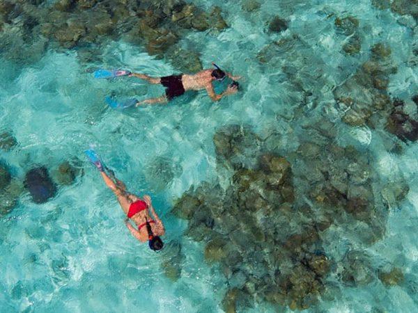 Anantara Kihavah Maldives Villas Snorkelling