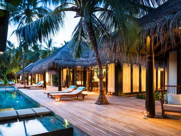 Anantara Kihavah Maldives Villas Three Bedroom Beach Pool Residence