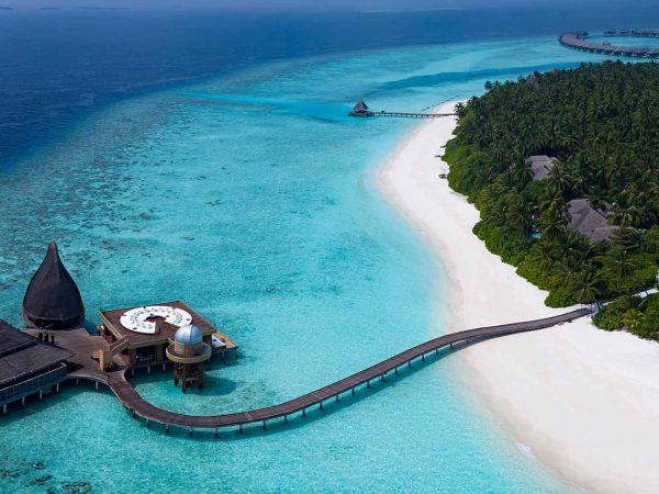 Anantara Kihavah Maldives Villas Top View