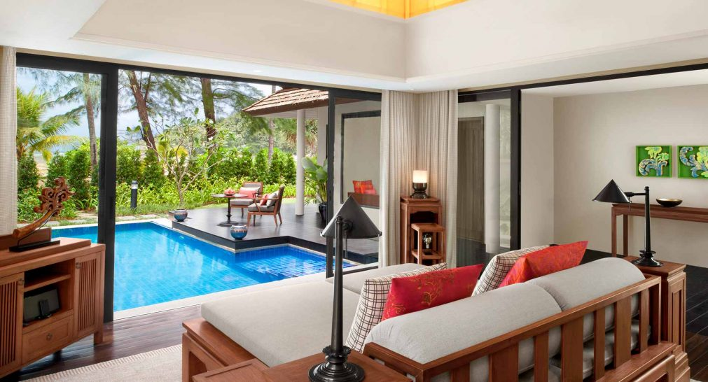 Anantara Layan Phuket Resort and Spa Beach Access Pool Villa