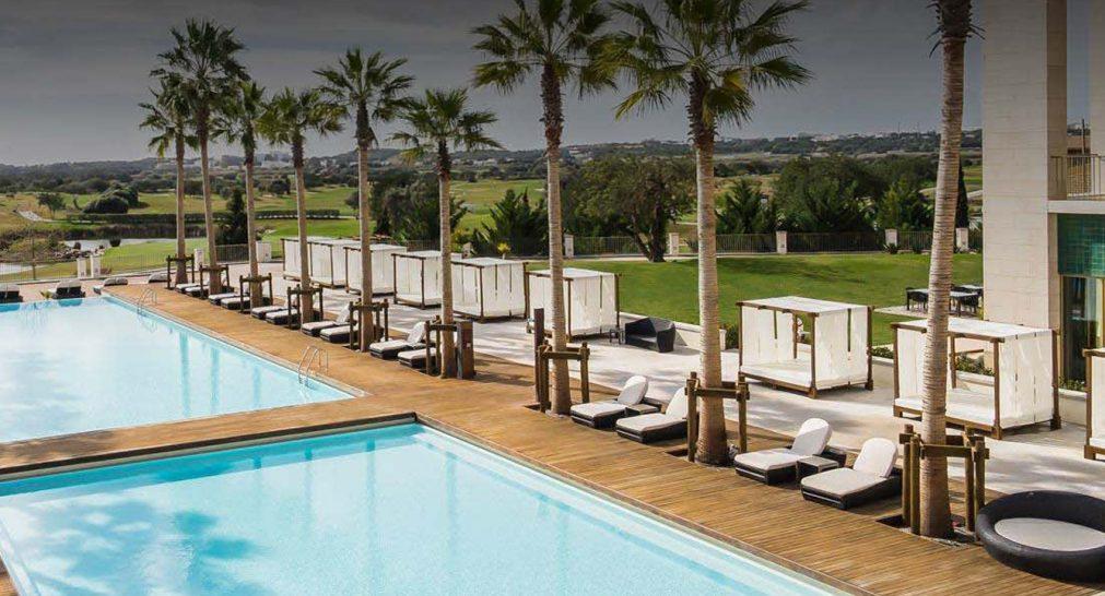Anantara Vilamoura Algarve Resort Palms Pool Bar