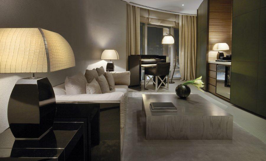 Armani Hotel Dubai Armani Fountain Suite