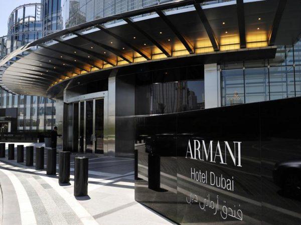 Armani Hotel Dubai Exterior