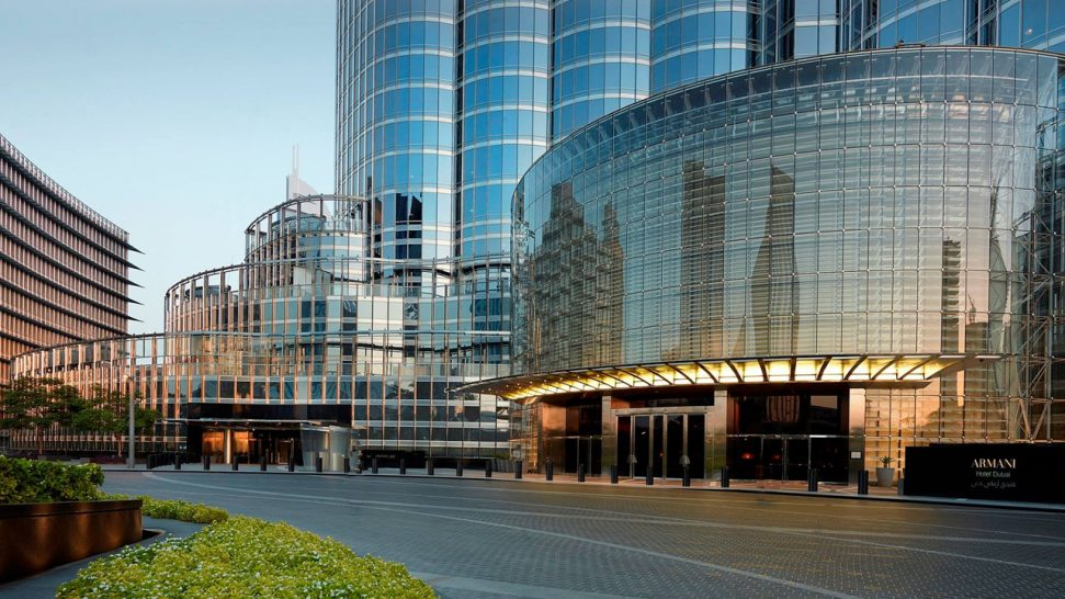 Armani Hotel Dubai Exterior View