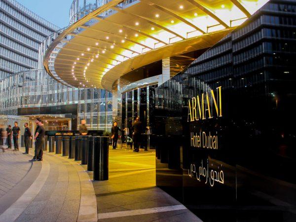 Armani Hotel Dubai Hotel View