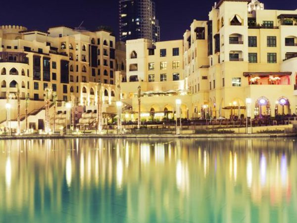 Armani Hotel Dubai Night View