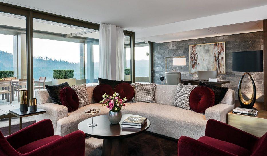 Burgenstock Hotel Alpine Spa Penthouse Suite