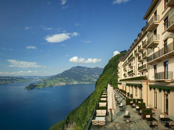Burgenstock Hotel Alpine Spa SideBurgenstock Hotel Alpine Spa Side