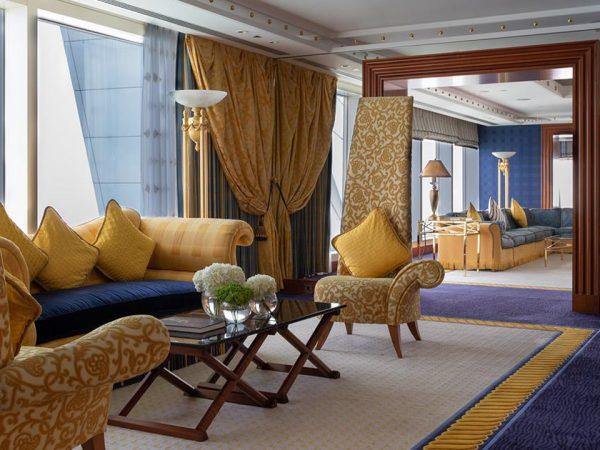 Burj Al Arab Jumeirah Burj Three Bedroom Family Suite