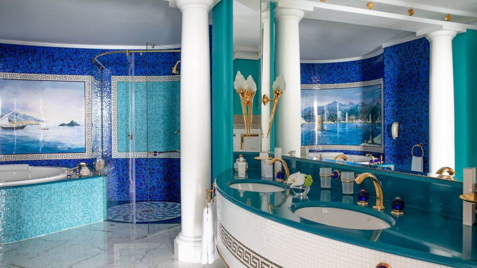 Burj Al Arab Jumeirah Deluxe Two Bedroom Suite Bathroom