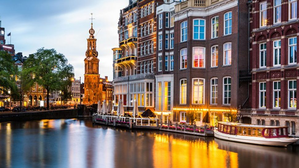 De L'Europe Amsterdam Hotel View