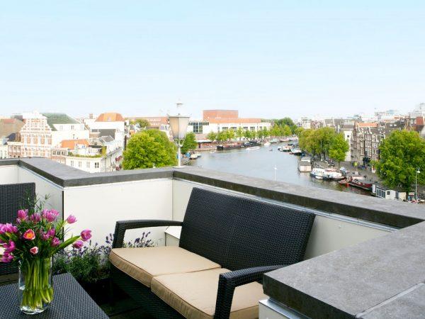 De L'Europe Amsterdam View