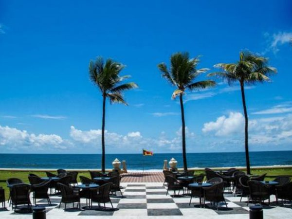 Galle Face Hotel Chequerboard