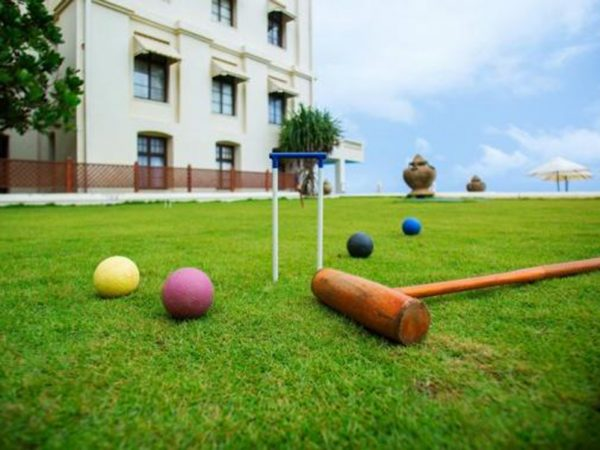 Galle Face Hotel Croquet