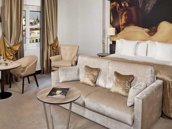 Gran Melia Palacio de los Duques Junior Suite Redlevel