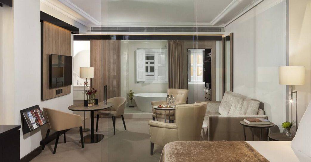 Gran Melia Palacio de los Duques Red Level Suite Three Rooms