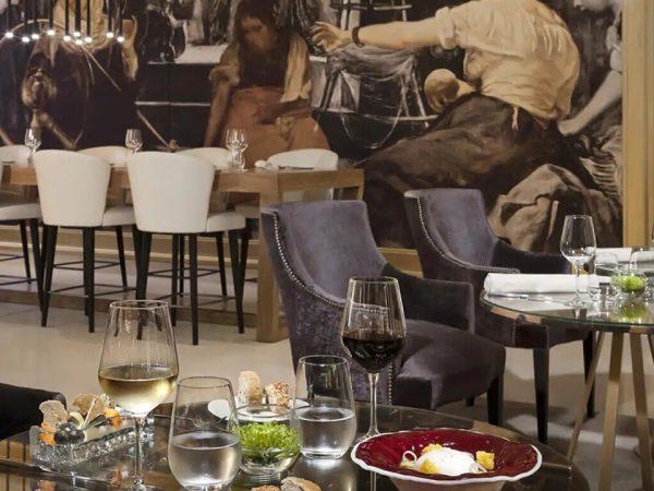Gran Melia Palacio de los Duques Restaurante Dos Cielos Madrid by Hermanos Torres