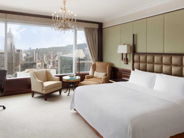 Island Shangri La Hong Kong Deluxe Harbour View Room
