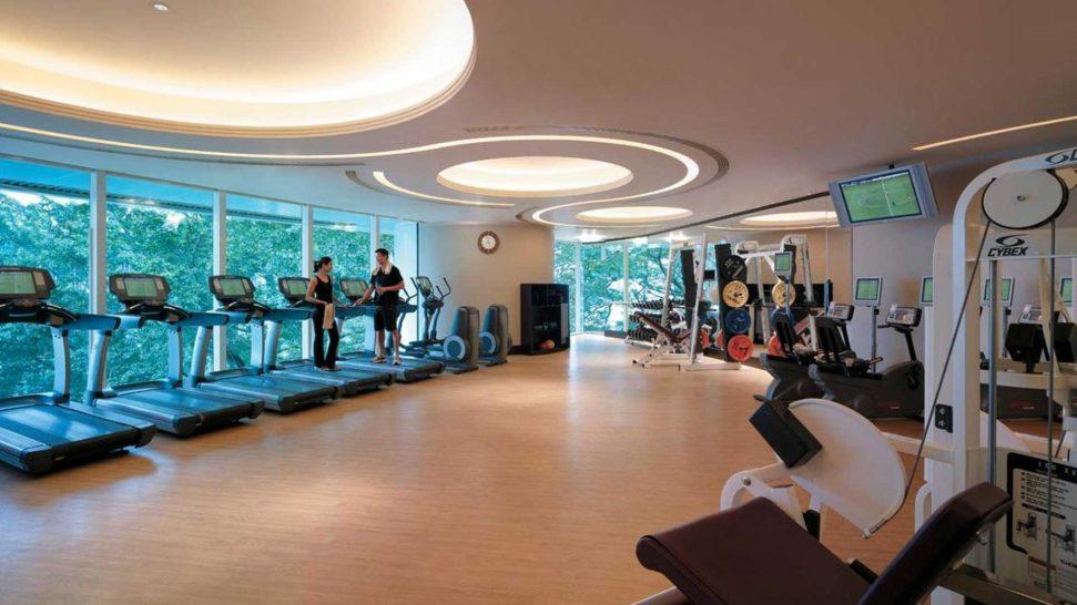 Island Shangri La Hong Kong Gym