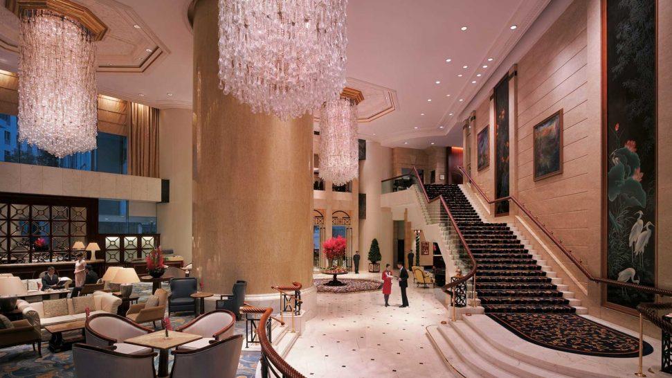 Island Shangri La Hong Kong Lobby