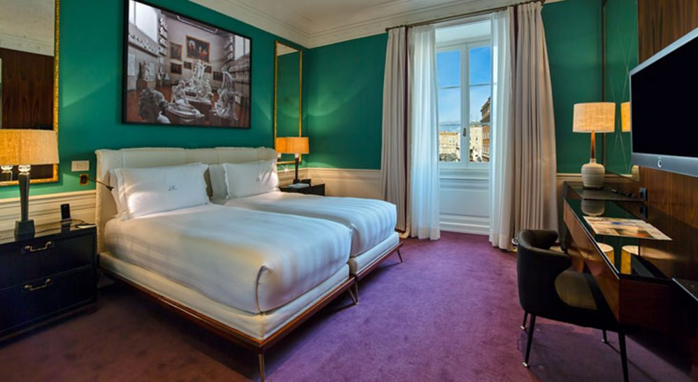 J.K. Place Roma Deluxe Double Room