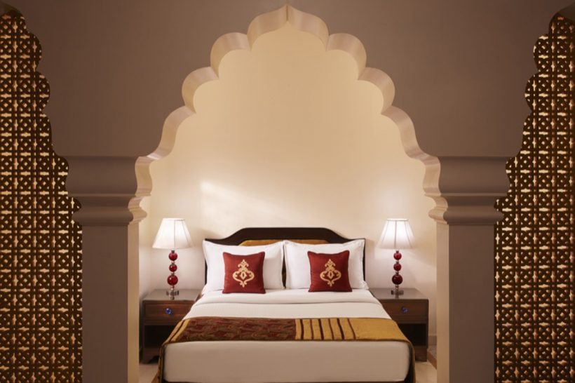Jai Mahal Palace Deluxe Premium Suite Double Bed