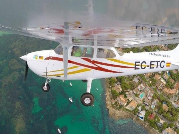Jumeirah Port Soller Hotel and Spa Menorca by Air in a Classic Airplane