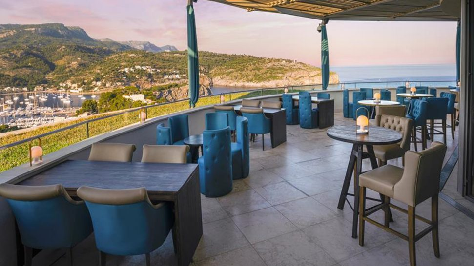 Jumeirah Port Soller Hotel and Spa Sunset Sushi Lounge