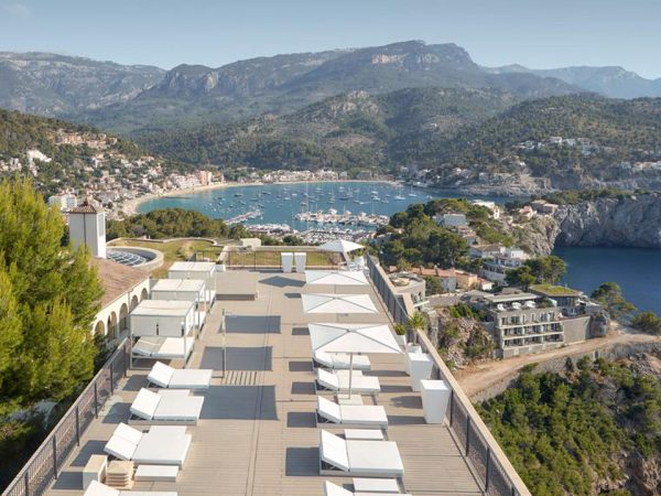 Jumeirah Port Soller Hotel and Spa Top View