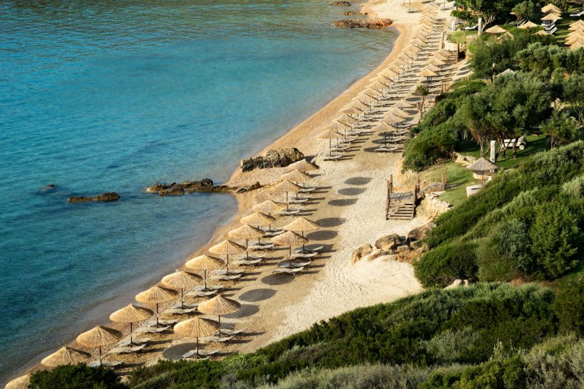 Kempinski Hotel Barbaros Bay Bodrum Beach