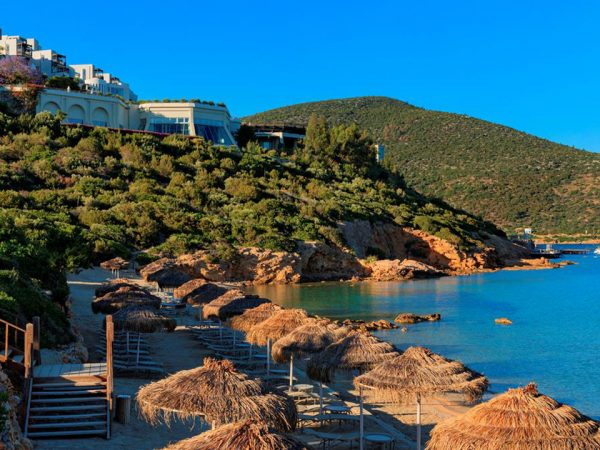 Kempinski Hotel Barbaros Bay Bodrum Beach View