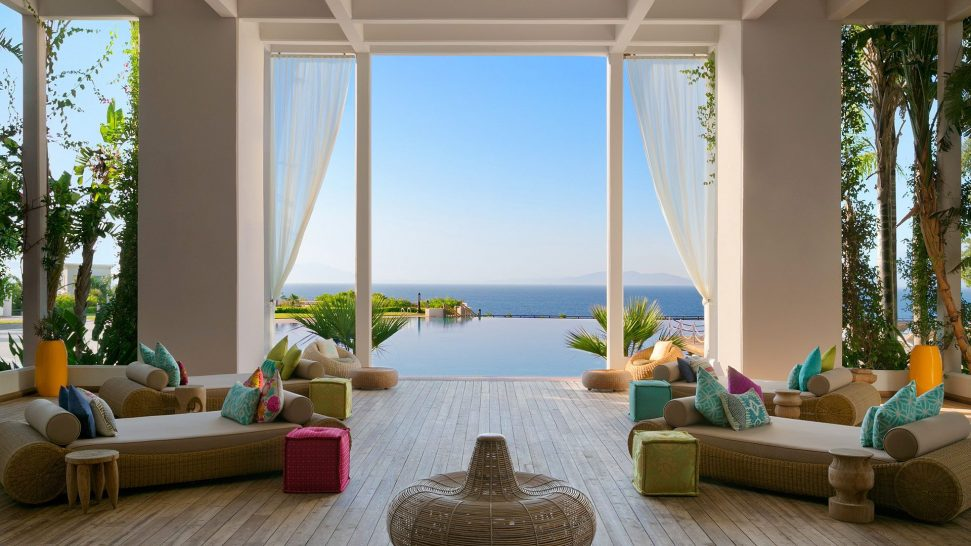 Kempinski Hotel Barbaros Bay Bodrum Chill Out Lounge