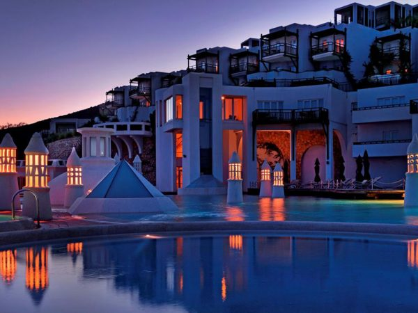 Kempinski Hotel Barbaros Bay Bodrum Night View
