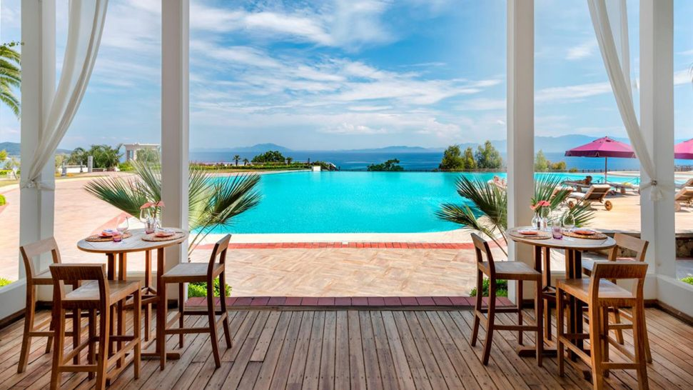 Kempinski Hotel Barbaros Bay Bodrum Pool Restaurant