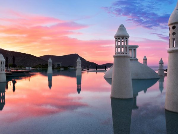 Kempinski Hotel Barbaros Bay Bodrum Sunset View